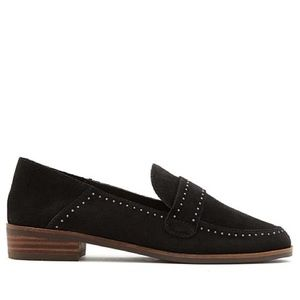 Lucky Brand Studded Suede Loafer